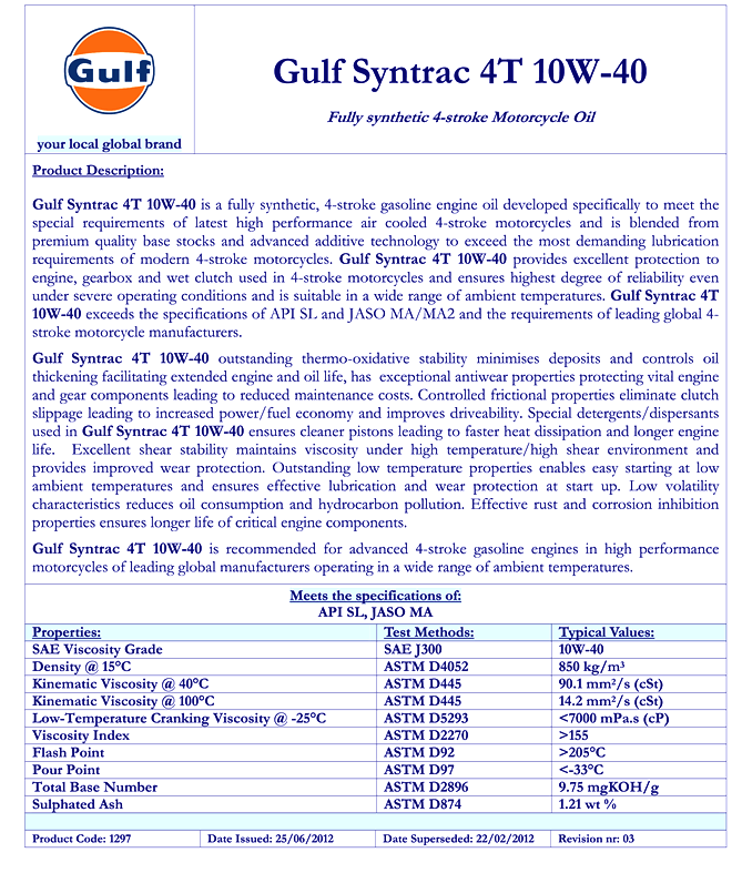 1297 Gulf Syntrac 4T 10W-40.png